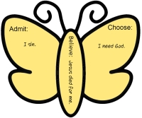 ABC of Salvation Butterfly