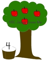 Apple Tree 4 Worksheet