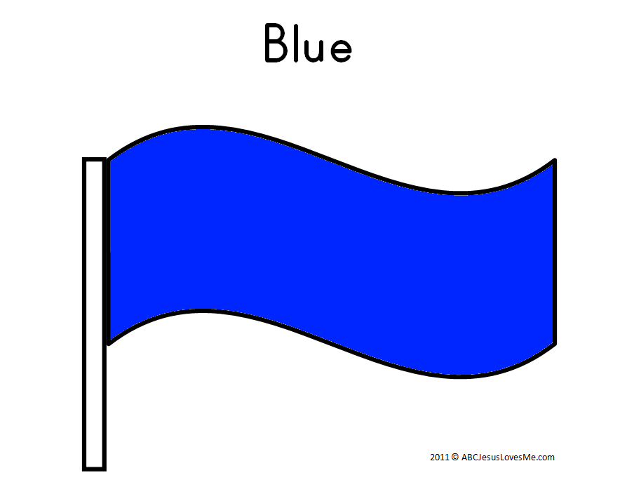 Blue Flag Worksheet