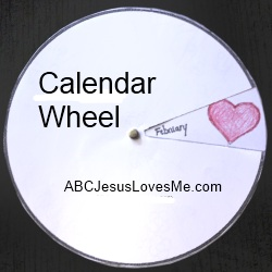 Calendar Wheel Craft