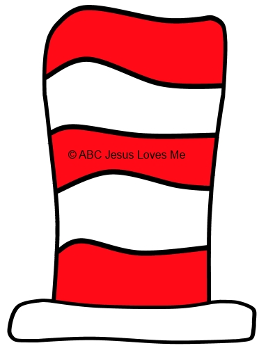 Cat in the Hat Pattern Worksheet