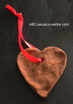 Cinnamon Heart Ornament