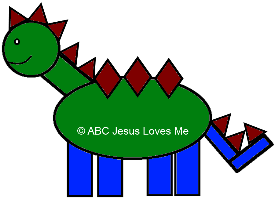 Shape Dino Activity