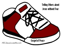 Gospel of Peace Shoes