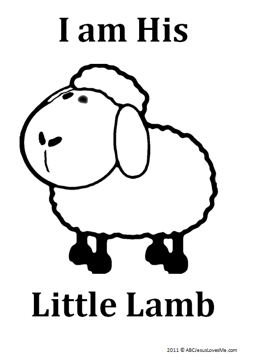 I am His Lamb