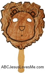 Lion Head Puppet