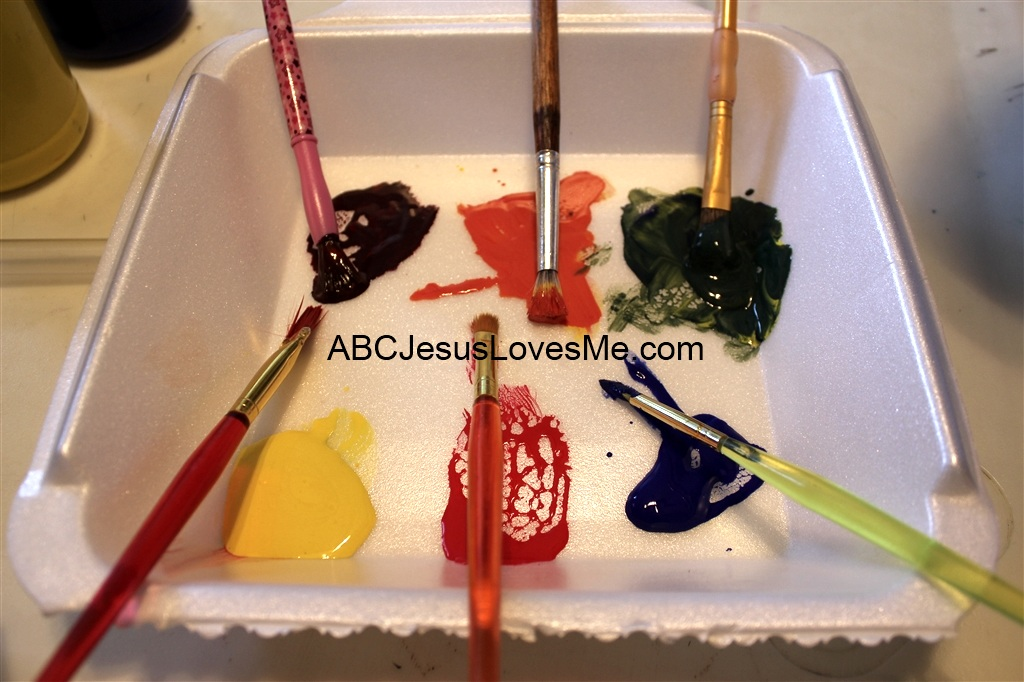 Mixing Paint Activity