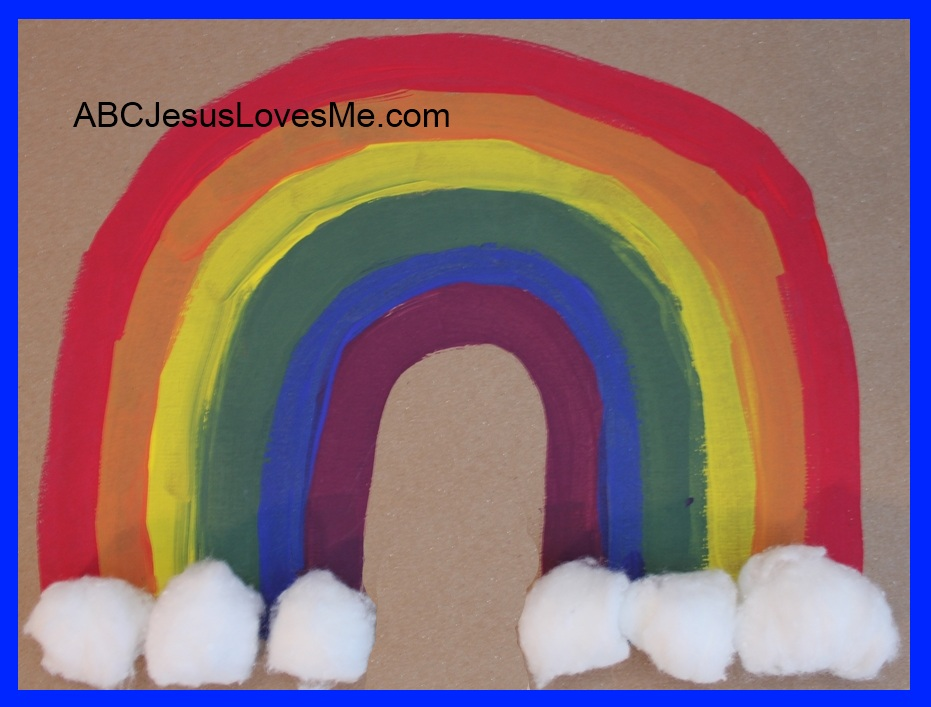 Paint Rainbow Activity