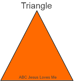 Paint Triangle Worksheet