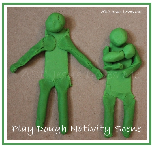 Play Dough Nativity