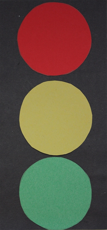 Stoplight Circle Craft