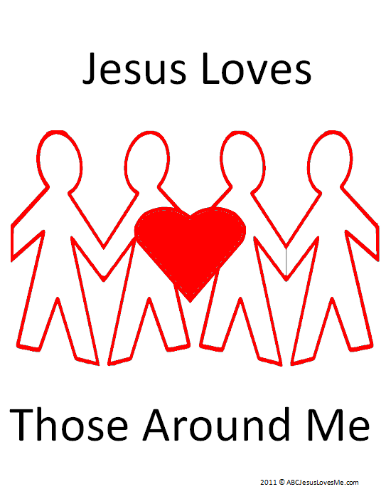 Jesus Loves Those Around Me