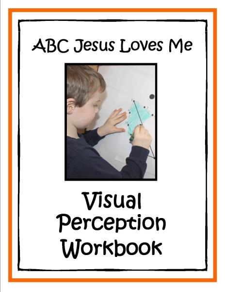 Visual Perception Workbook Color Small