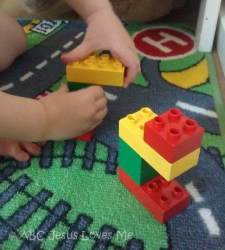 Block Activities for Visual Perception