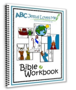 Bible Coloring Workbook