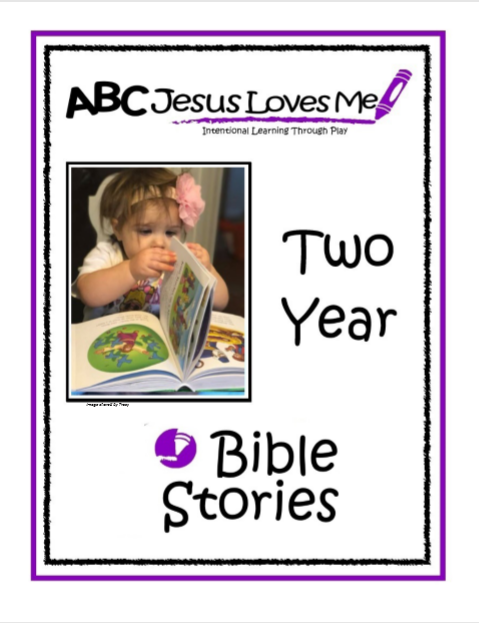 2 Year Interactive Bible Stories