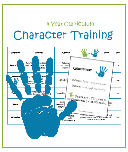 Character Training Printable