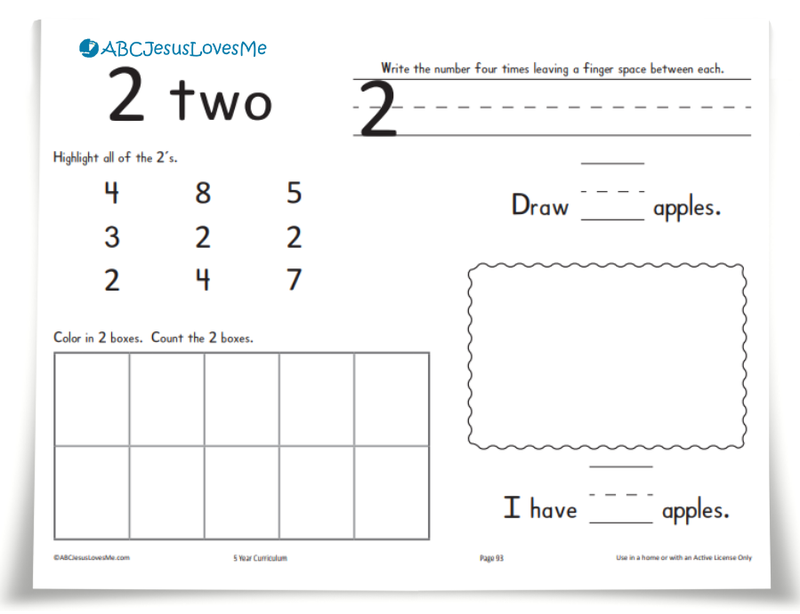 Handwriting Workbook Example Worksheet