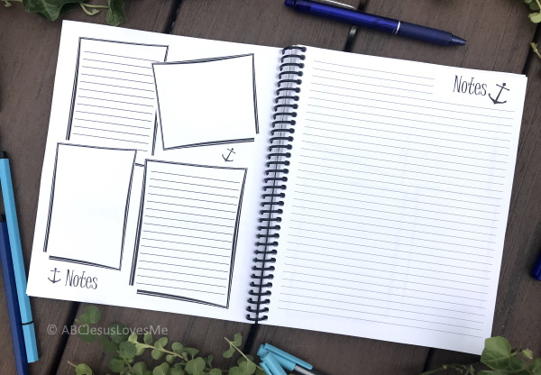 Be Intentional Small Planner Notes