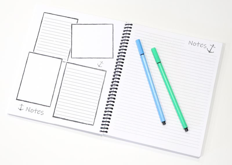 Be Intentional Small Planner Notes Layout
