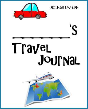 Travel Journal Digital Download